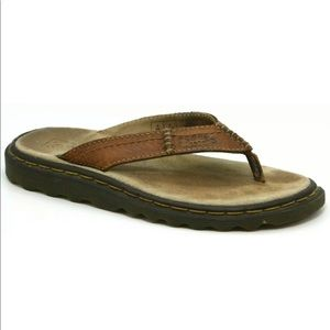 Dr Martens Thong Flip Flop Sandal Slip On Leather